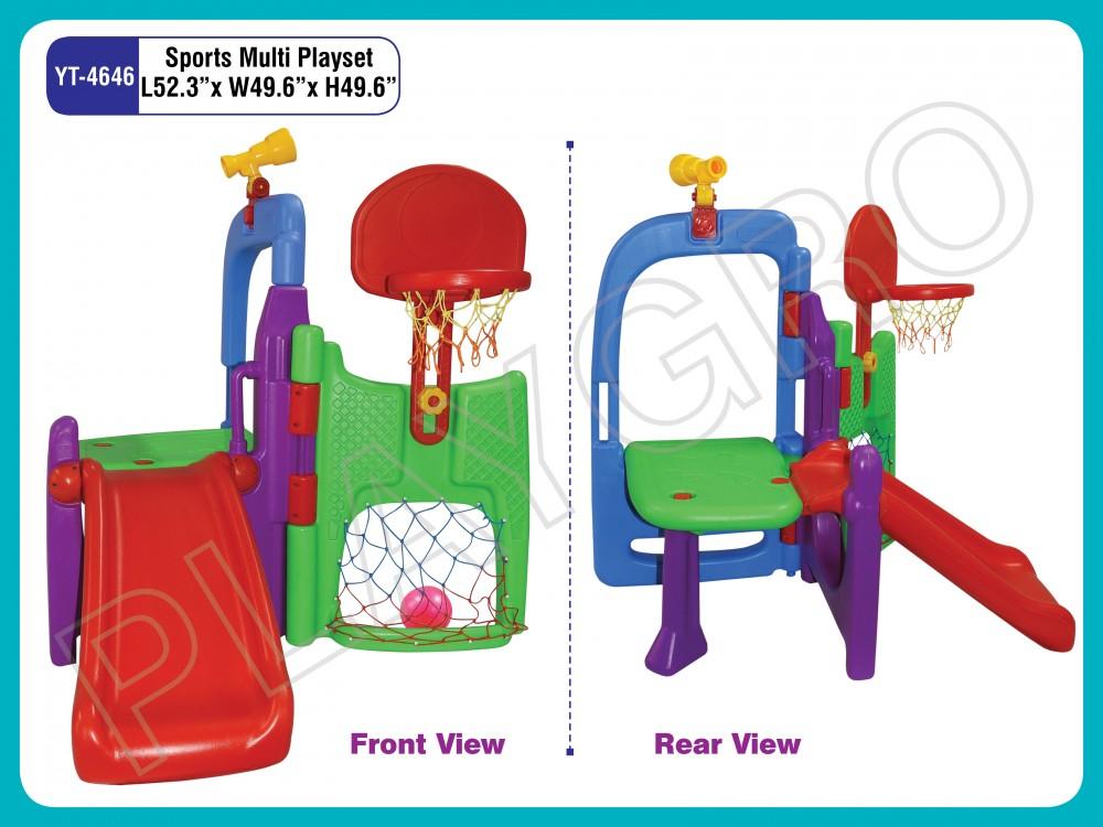 Best Sports Multi Playset - Slides- swing Combo Manufacturer in Delhi NCR