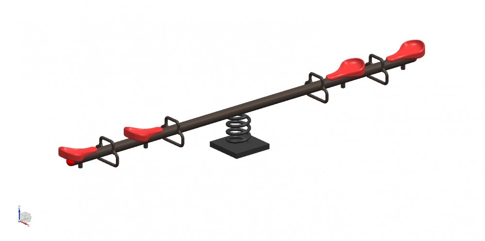 Best Spring  See Saw 4 Seater - See Saw Manufacturer in Delhi NCR