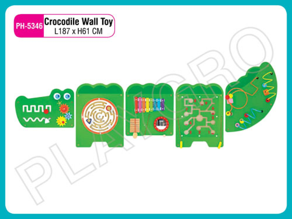 Best Wall Toy Crocodile - Wall Toys Manufacturer in Delhi NCR