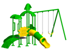 Pre-School Outdoor Play Equipments - Outdoor Play Equipments in Delhi NCR